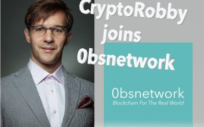 Robby Schwertner Joins 0bsnetwork as The Chief Business Development Officer