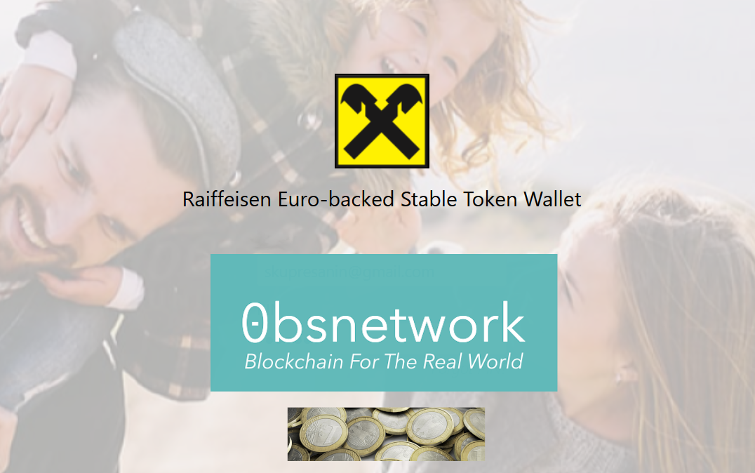 Bank Issued Euro Stable Token on 0bsnetwork – World First!
