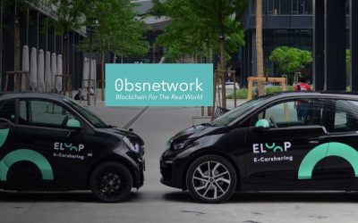 Eloop Electric Vehicle Fleet Tokenised on 0bsnetwork